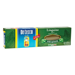 DECECCO LINGUINE WITH SPINACH PASTA 12 OZ BOX