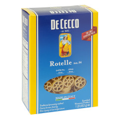 DECECCO ROTELLE PASTA 16 OZ BOX # 54