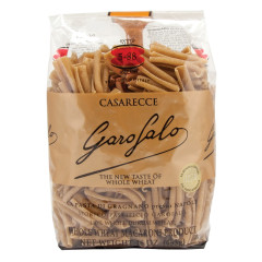 GAROFALO WHOLE WHEAT CASARECCE PASTA 16 OZ BAG