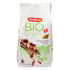 FAMILIA ORGANIC NO SUGAR ADDED MUESLI 16 OZ BAG