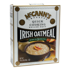 MCCANN'S QUICK COOKING IRISH OATMEAL 16 OZ BOX