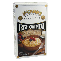 MCCANN'S STEEL CUT IRISH OATMEAL 16 OZ BOX