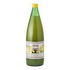 ITALIAN VOLCANO ORGANIC LEMON JUICE 33.8 OZ BOTTLE