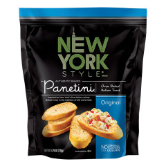 NEW YORK STYLE ORIGINAL PANETINI 4.75 OZ POUCH