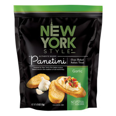 NEW YORK STYLE GARLIC PANETINI 4.25 OZ POUCH