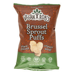 VEGAN ROB'S BRUSSEL SPROUT PUFFS 3.5 OZ BAG
