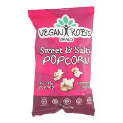 VEGAN ROB'S SWEET AND SALTY POPCORN 1 OZ BAG