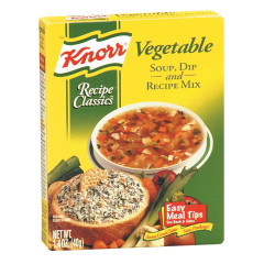KNORR VEGETABLE RECIPE MIX 1.4 OZ BOX