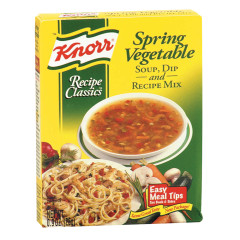 KNORR SPRING VEGETABLE RECIPE MIX 0.9 OZ BOX