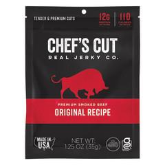 CHEF'S CUT ORIGINAL STEAK JERKY 1.25 OZ BAG