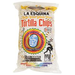 LA ESQUINA ORGANIC YELLOW CORN TORTILLA CHIPS 9 OZ BAG