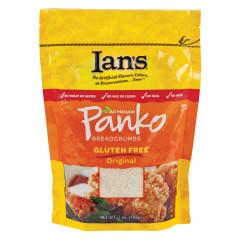 IAN'S GLUTEN FREE ORIGINAL PANKO BREADCRUMBS 7 OZ POUCH