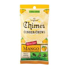 CHIMES MANGO GINGER CHEWS 1.5 OZ BAG