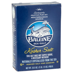 LA BALEINE KOSHER SALT 33.5 OZ BOX