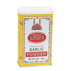 SZEGED GARLIC POWDER 6 OZ TIN