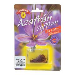 CHIQUILIN AZAFRAN SAFFRON 0.5 GRAMS