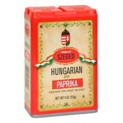 SZEGED SWEET HUNGARIAN PAPRIKA 4 OZ TIN