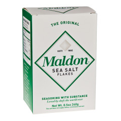 MALDON SEA SALT FLAKES 8.5 OZ BOX