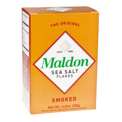 MALDON SMOKED SEA SALT FLAKES 4.4 OZ BOX