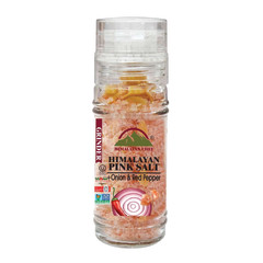 HIMALAYAN CHEF HIMALAYAN SALT ONION AND PEPPER 3.53 OZ GRINDER