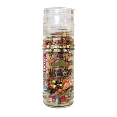 HIMALAYAN CHEF HIMALAYAN SALT AND RAINBOW PEPPER 3.53 OZ GRINDER