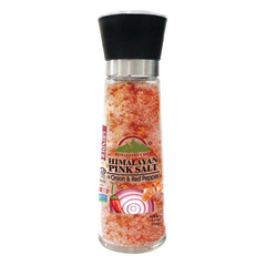 HIMALAYAN CHEF HIMALAYAN SALT ONION AND PEPPER 11.5 OZ GRINDER