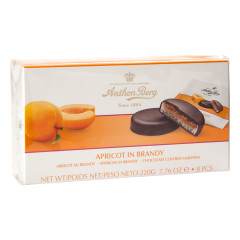 ANTHON BERG APRICOT IN BRANDY 7.76 OZ BOX