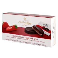 ANTHON BERG STRAWBERRY IN CHAMPAGNE 7.76 OZ BOX