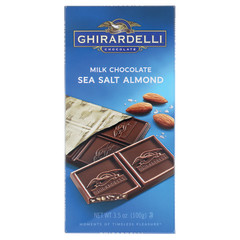 GHIRARDELLI MILK CHOCOLATE SEA SALT SYMPHONY 3.34 OZ BAR