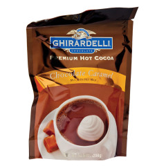 GHIRARDELLI CARAMEL HOT CHOCOLATE 10.5 OZ POUCH