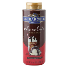 GHIRARDELLI CHOCOLATE SAUCE 16 OZ BOTTLE