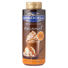 GHIRARDELLI CARAMEL SAUCE 17 OZ BOTTLE