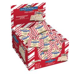GHIRARDELLI PEPPERMINT BARK SQUARES