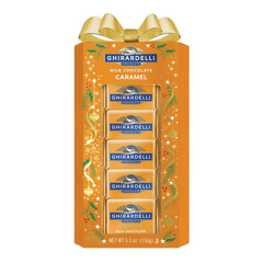 GHIRARDELLI ASSORTED SQUARES ELEGANT COLLECTION WINDOW GIFT BOX 5.3 OZ