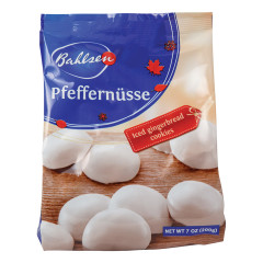BAHLSEN PFEFFERNUSSE 7 OZ BAG