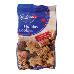 BAHLSEN HOLIDAY COOKIES 10.6 OZ BAG