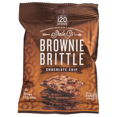 BROWNIE BRITTLE CHOCOLATE CHIP 1 OZ BAG *FL DC ONLY*
