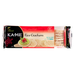 KAME WASABI RICE CRACKERS 3.5 OZ