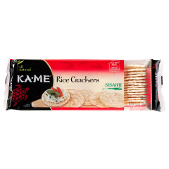 KAME SESAME RICE CRACKERS 3.5 OZ