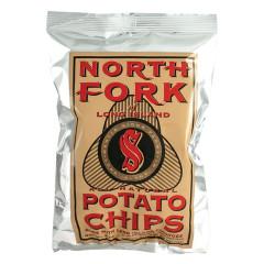NORTH FORK SALTED POTATO CHIPS 2 OZ BAG