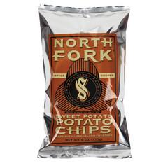NORTH FORK SWEET POTATO CHIPS 6 OZ BAG