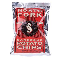 NORTH FORK BBQ POTATO CHIPS 6 OZ BAG