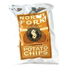 NORTH FORK SWEET POTATO CHIPS 2 OZ BAG