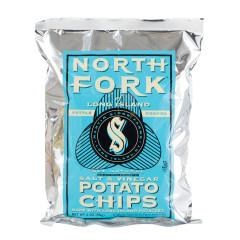 NORTH FORK SALT AND VINEGAR POTATO CHIPS 2 OZ BAG