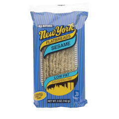 NEW YORK SESAME FLATBREAD 5 OZ