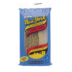 NEW YORK EVERYTHING FLATBREAD 5 OZ