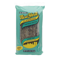 NEW YORK PUMPERNICKEL EVERYTHING FLATBREAD 5 OZ