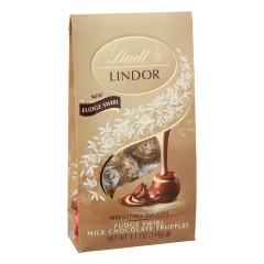 LINDT LINDOR FUDGE SWIRL TRUFFLES 5.1 OZ BAG