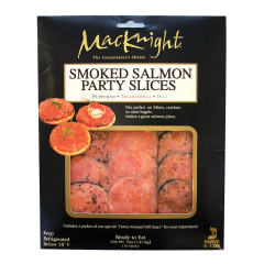 MACKNIGHT SMOKED SALMON PARTY SLICES 5 OZ