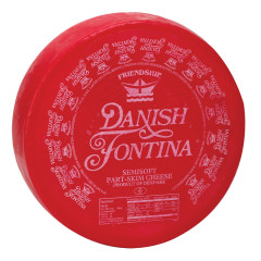 FONTINA RED WAX DANISH